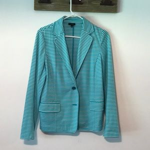 Ladies Talbots Cotton Blazer
